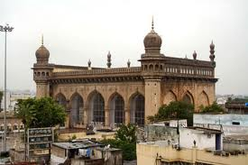Mecca Masjid Mosque – one of the biggest and oldest mosques in India
