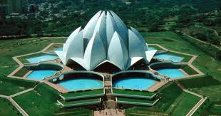 Lotus Temple in Bahai