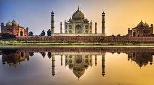 Taj Mahal – the Mausoleum of Mumtaz Mahal