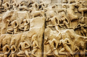 mahabalipuram-temple-Descent of the Ganges